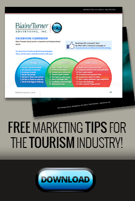 FREE MARKETING TIPS FOR THE TOURISM INDUSTRY!