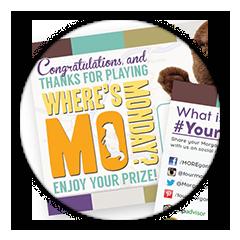 Where's Mo Winner Cards
