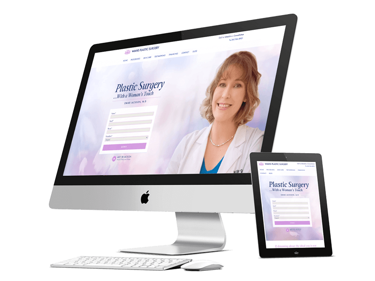 WMHS Plastic Surgery Website - Lead Generation