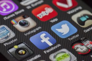 social media accounts for blog