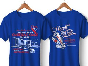 UHC Heart Walk T-Shirts